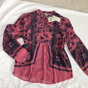 Lucky Brand Blouse. Brand new with tags.